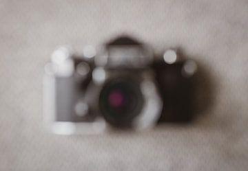Caméra abstraite en bokeh