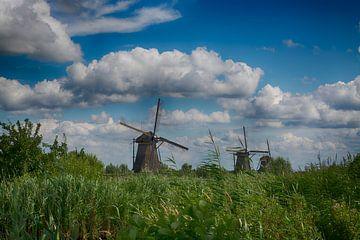 Là, aux moulins à vent (Kinderdijk)