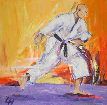 Karate - Jerry sensei von Lucia Hoogervorst