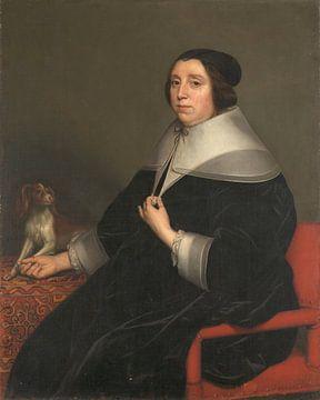 Porträt einer Frau, Gerard van Honthorst, 1655