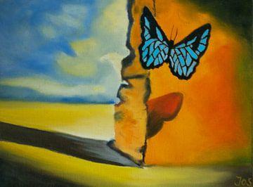 Last Butterfly of Dali van Jos van Oorschot