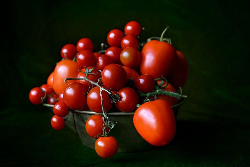 Stilleven met tomaten van Anouschka Hendriks