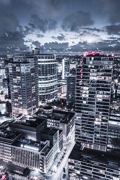 Rotterdam blaak at night time van Rftp.png