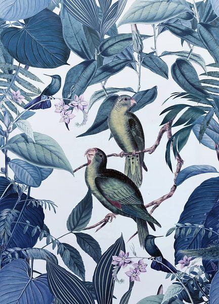 Jungle Blue Hour van Andrea Haase