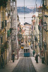 De kleine straten van Lissabon van