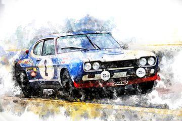 Ford Capri, Jochen Mass spa-24-hours von Theodor Decker