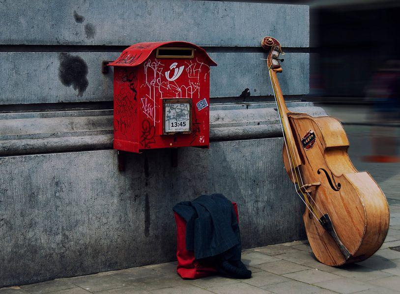 Streetmusic van Ellen Driesse