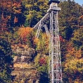 Bad Schandau - Ascenseur historique (Suisse saxonne) sur Alexander Voss