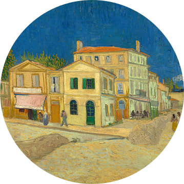 Vincent van Gogh. Het gele huis,  1888