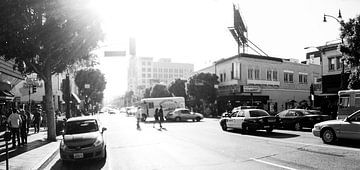 Hollywood Boulevard von Vanmeurs fotografie
