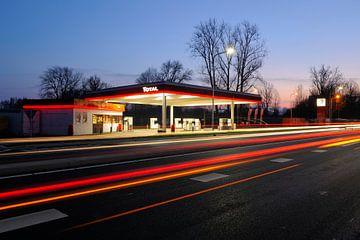 Total Tankstation aan de Utrechtseweg in de Bilt von
