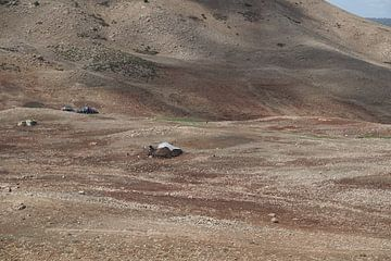 woestijn met berbertenten van joyce kool
