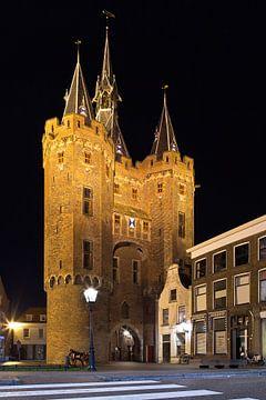 Sassenpoort te Zwolle sur Anton de Zeeuw