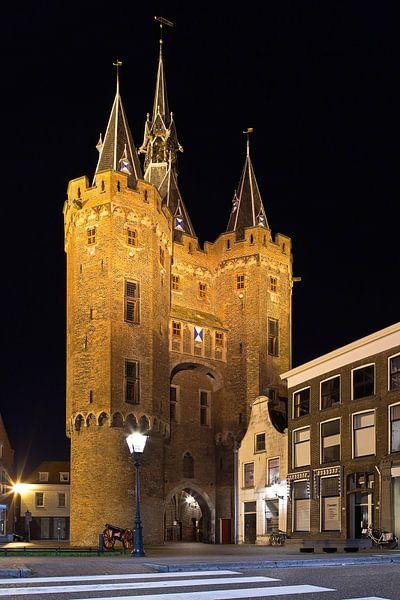 Sassenpoort te Zwolle van Anton de Zeeuw