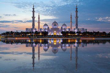 Sheikh Zayed Moschee in Abu Dhabi l Reisefotografie von Lizzy Komen