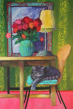 CatInDaHouse von Lucienne van Leijen