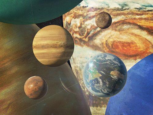 Portret van de planeten van