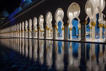 Sheik Zayed Moskee (Abu Dhabi) van Teddy Dako
