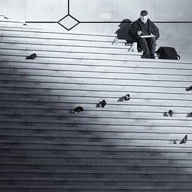 De tekenaar van Hans Heemsbergen