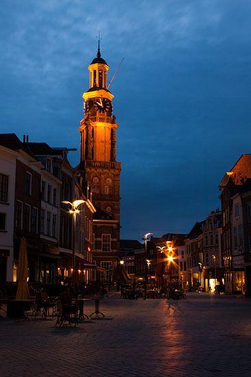 Rustige avond in Zutphen van Ada Zyborowicz
