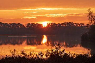zonsondergang van Hetwie van der Putten