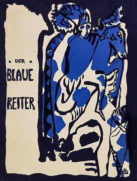 Holzschnitt für den Almanach Der Blaue Reiter, WASSILY KANDINSKY, 1912-1914 von Atelier Liesjes