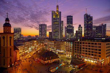 Silhouetten Frankfurt van Patrick Lohmüller