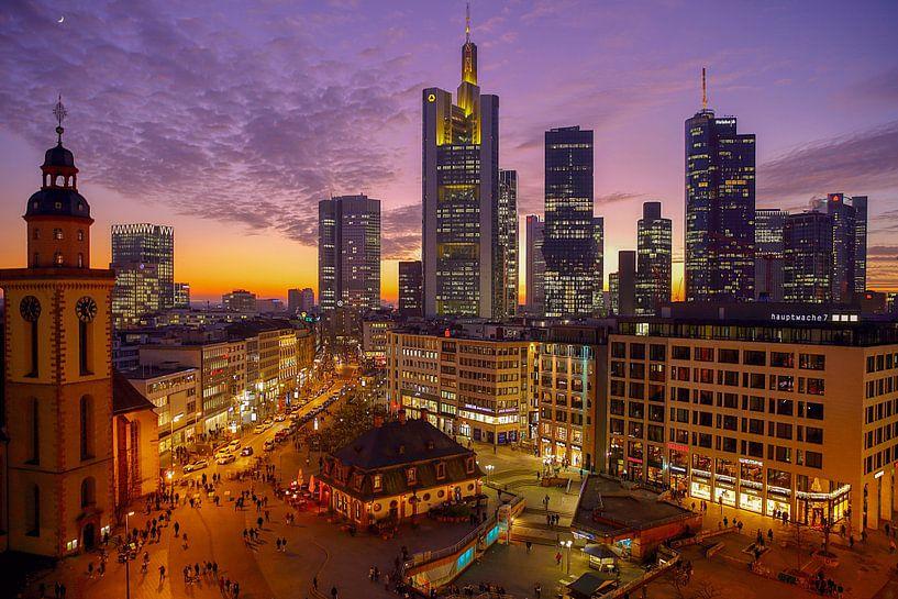 Silhouetten Frankfurt von Patrick Lohmüller