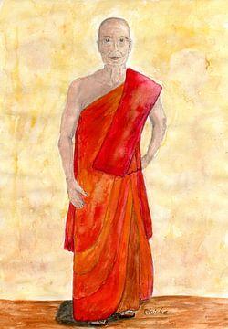 Der buddhistische Mönch von Sandra Steinke