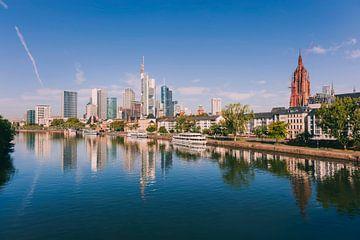 Skyline von Frankfurt Deutschland von Anouschka Hendriks