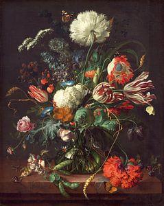 Jan Davidsz de Heem. Vaas met bloemen