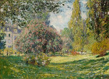 Landschaft: Der Parc Monceau, Claude Monet