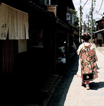 'Geisha', Kyoto- Japan van Martine Joanne