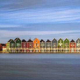 Kleurrijke Huisjes van wim denijs
