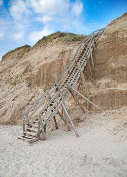 Trap naar het strand van BVpix