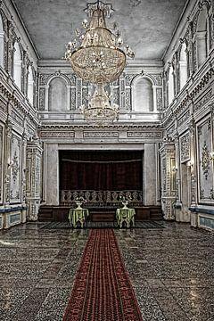 Zaal in Paleis van Yvonne Smits