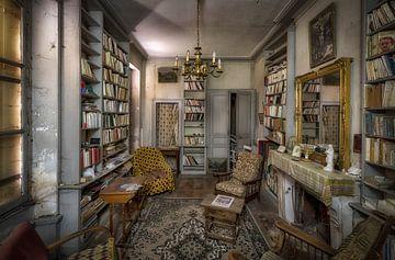 Französisches Bücherzimmer von Kelly van den Brande