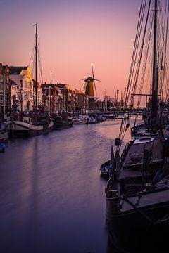 Korenmolen de Distilleerketel à Rotterdam Delfshaven