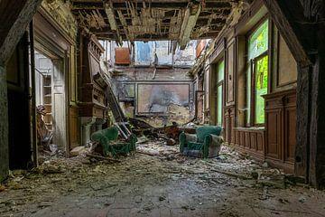 die grünen Stühle von Ecarna