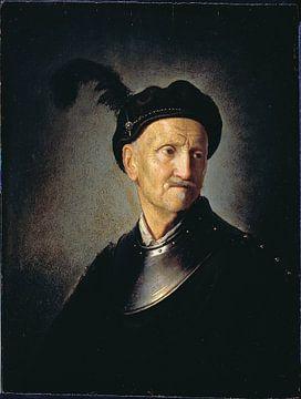 Portrait eines Mannes, Rembrandt van Rijn