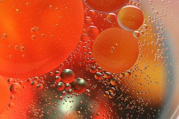 Water met olie van Rinnie Wijnstra