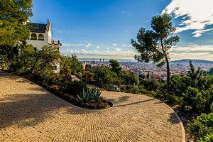 La Casa Trias in Park Güell in Barcelona