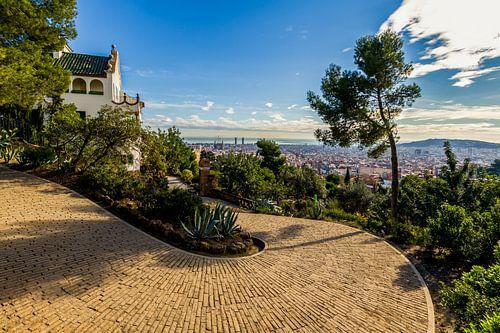 La Casa Trias à Park Güell à Barcelone