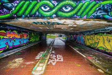Graffiti.Streetart. van Brian Morgan