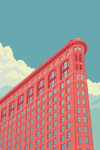 Flatiron Building NYC van Remko Heemskerk