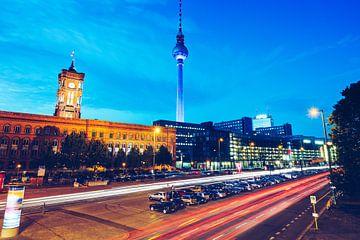 Berlin – Grunerstrasse / Rotes Rathaus van