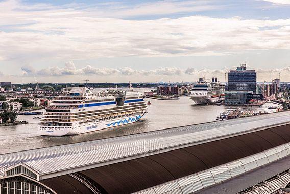 Cruiseschipcultuur van Amsterdam van Renzo Gerritsen