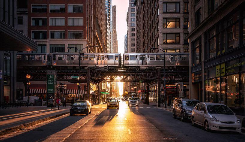 Chicago van Photo Wall Decoration