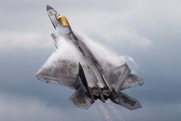 F-22 Raptor gevechtsvliegtuig van Kris Christiaens