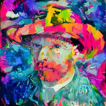 Motiv Vincent Van Gogh - Expressive Colors von Felix von Altersheim